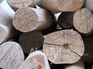 Geschliffenes rundholz 2