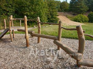 Akátové plotové prvky 3