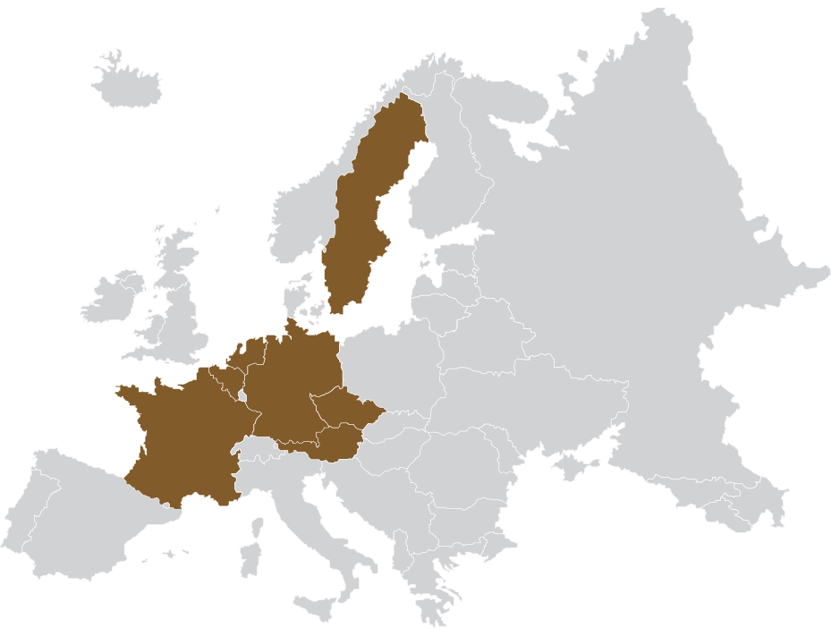 Mapa působnosti AkátTyl