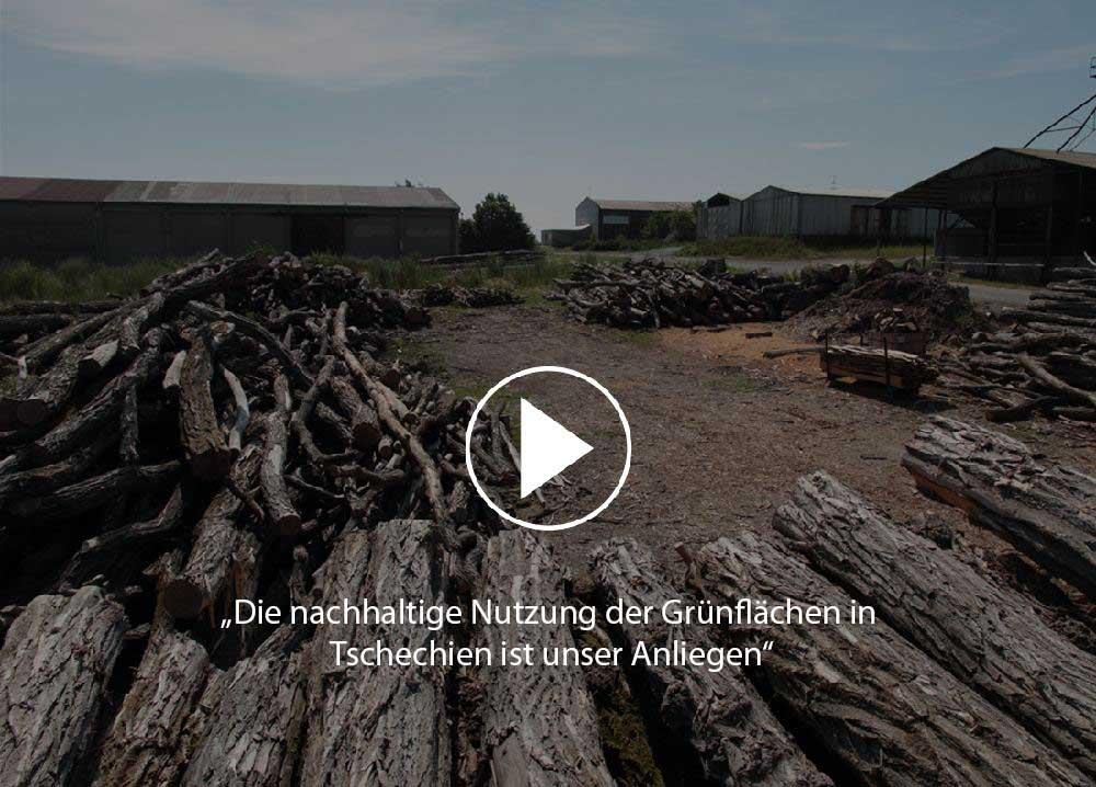 Video - Die nachhaltige nutzung der Grunflachen in Tschechien ist unser Anliegen